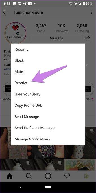 Restringir Instagrama vs Bloquear: Qué opción de privacidad debe utilizar 21