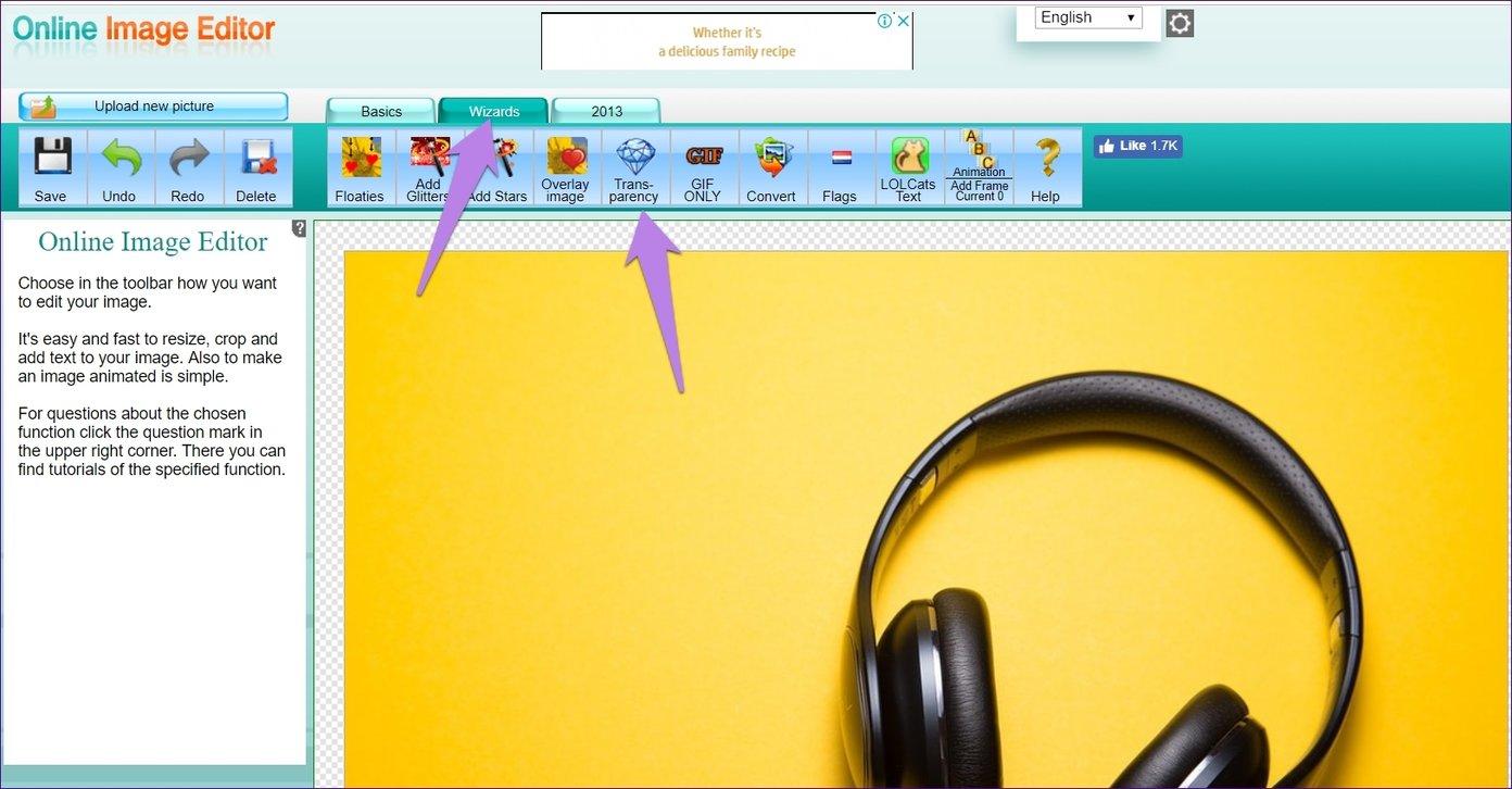 Las mejores 5 herramientas en línea de eliminación de fondos gratis que usted puede utilizar 6