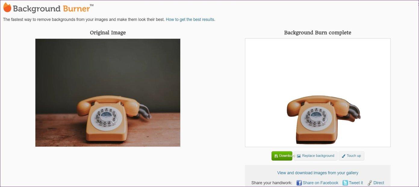 Las mejores 5 herramientas en línea de eliminación de fondos gratis que usted puede utilizar 8