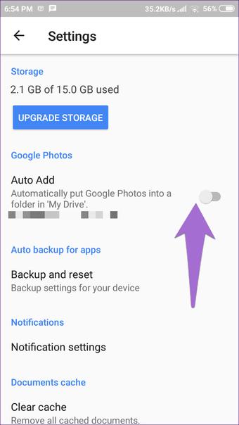 Cómo quitar fotos de la unidad de Google, pero no de Google Photos 11