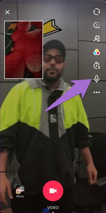 Cómo añadir reacciones a los vídeos en TikTok 4