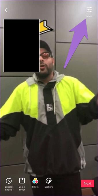 Cómo añadir reacciones a los vídeos en TikTok 5